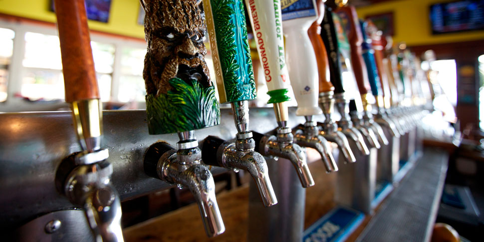 36 Beers on Tap!