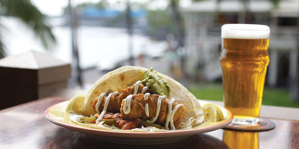 New! Baja-style fish tacos!