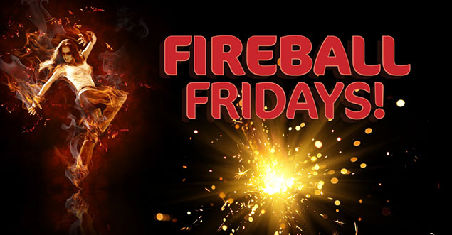 Fireball Fridays at the Biggest Dance Floor in Kona